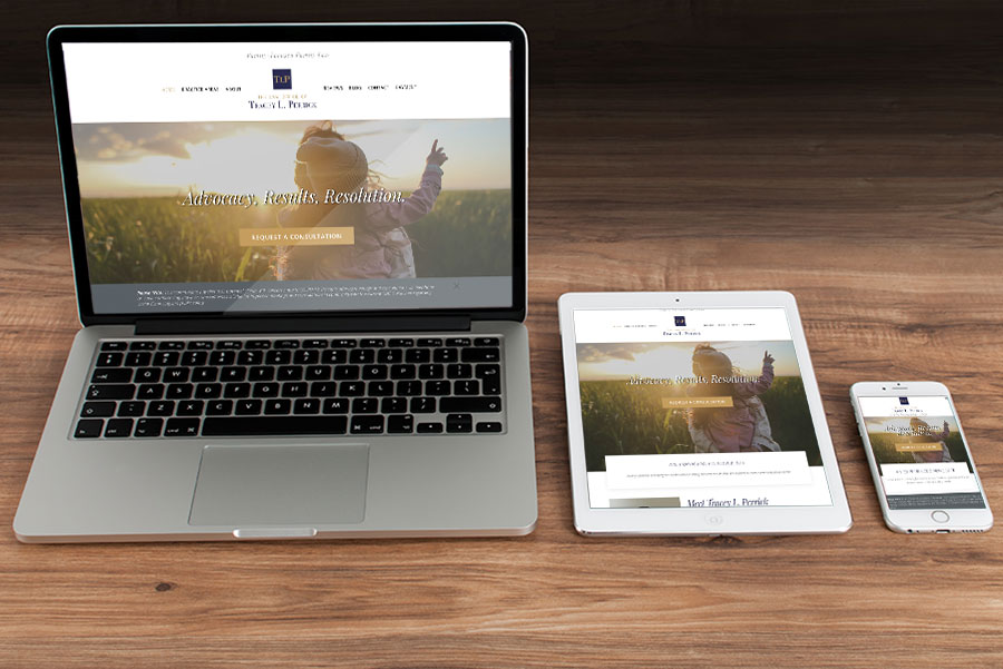 The Law Office of Tracey L. Perrick, LLC | Responsive Web Design