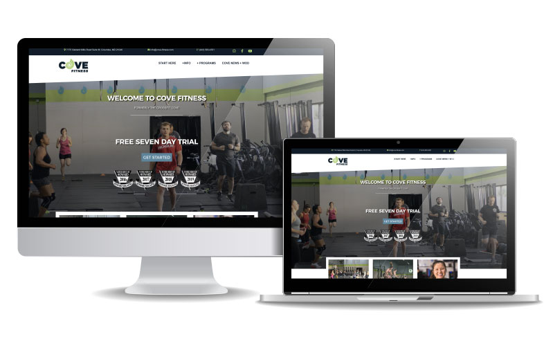 Cove Fitness | Responsive Web Design